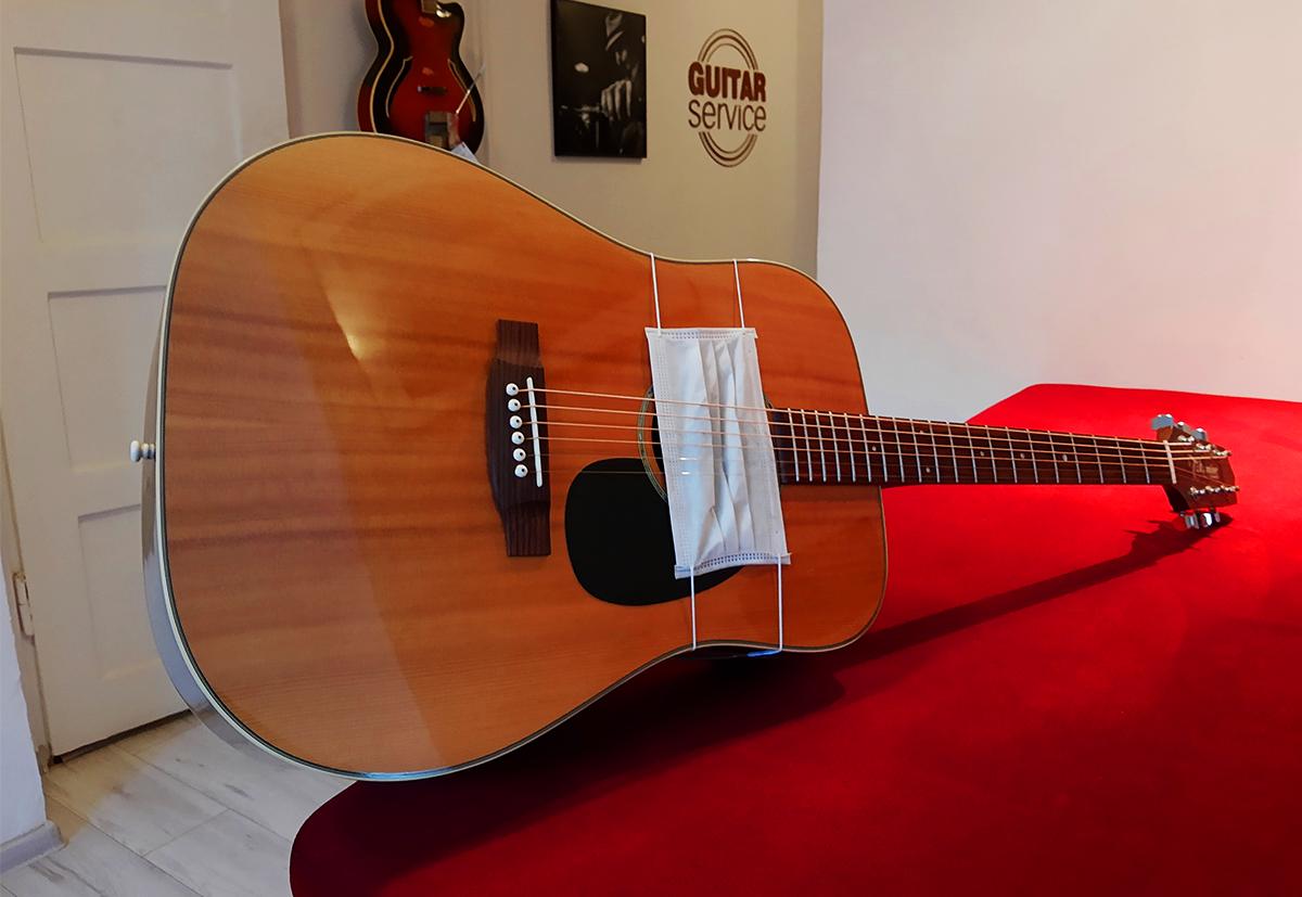 Guitar Service Delivery, czyli dostawa instrumentów